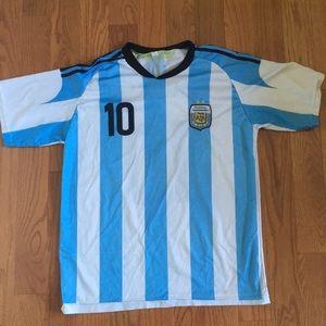 Argentina Lionel Messi Jersey # 10